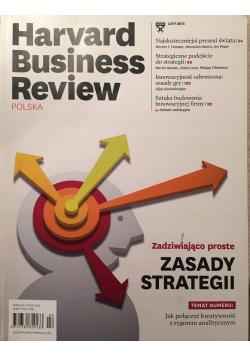 Harvard Business Review nr 2 Zadziwiająco proste Zasady Strategii