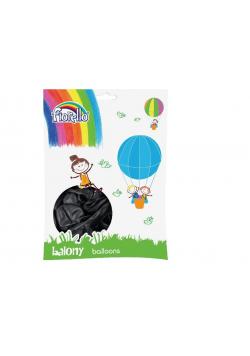 """Balony Metal 12"""" czarny (100szt) FIORELLO"""