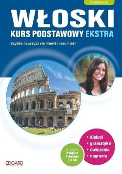 Włoski Kurs podstawowy Plus płyty CD