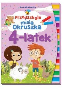 Przedszkole misia Okruszka 4-latek