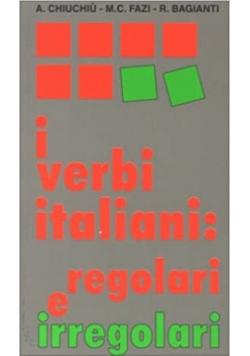 I verbi italiani Regolari e irregolari