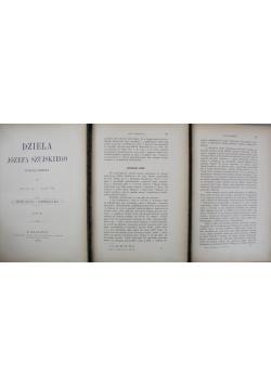 Dzieła Józefa Szujskiego 3 części 1888 r.