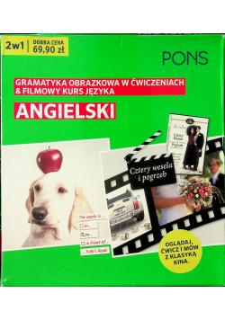 Gramatyka obrazkowa/filmowy kurs Angielski 2w1