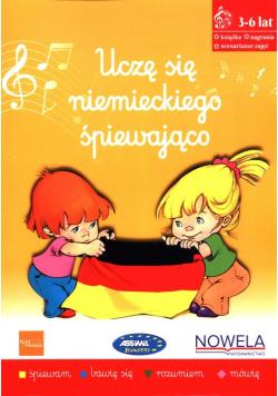 Uczę się niemieckiego śpiewająco Książka nagrania scenariusze zajęć
