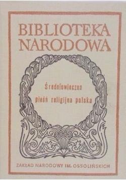 Średniowieczna pieśń religijna polska