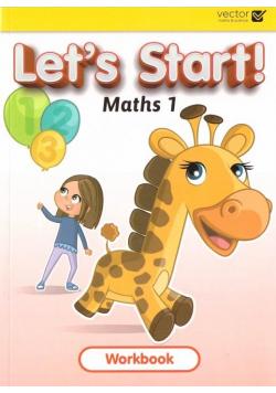 Let's Start Maths 1 WB VECTOR