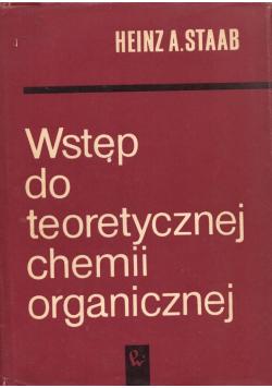 Wstęp do teoretycznej chemii organicznej