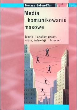 Media i komunikowanie masowe