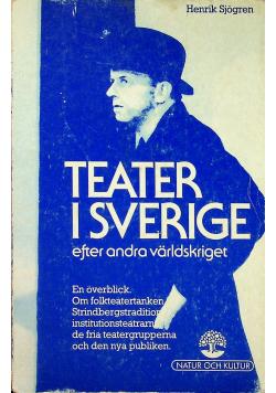 Teater i Sverige