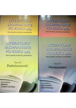 Literatury słowiańskie po roku 1989  4 tomy