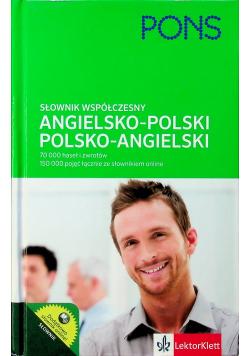 PONS Słownik współczesny angielsko polski polsko angielski
