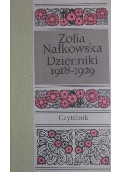 NałkowskaDzienniki 1918 1929