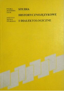 Studia historycznojęzykowe i dialektologiczne