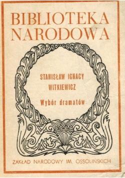 Witkiewicz Wybór dramatów