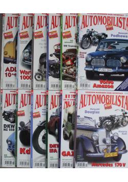 Miesięcznik miłośników starej motoryzacji Automobilista 12 numerów
