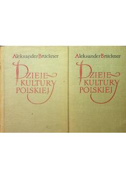 Dzieje Kultury Polskiej Tom I i II