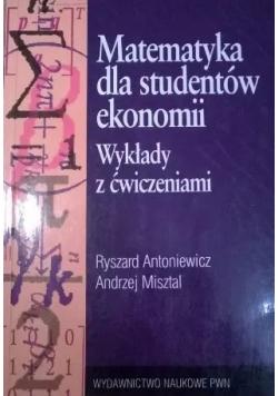 Matematyka dla studentów ekonomii Wydanie I