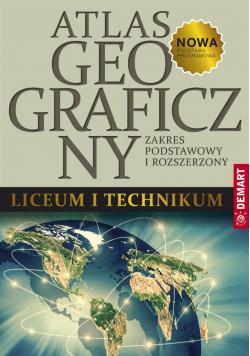 Atlas geograficzny ZP+ZR do LO i Technikum