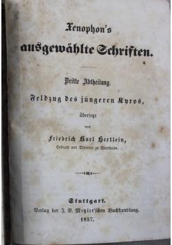 Xenophon s ausgewahlte schriften 1857 r. 2 tomy