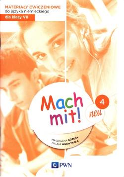 Mach mit! neu 4 Materiały ćwiczeniowe do języka niemieckiego dla klasy 7