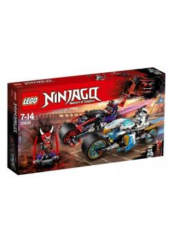 Lego NINJAGO 70639 Wyścig uliczny Wężowego Jaguara