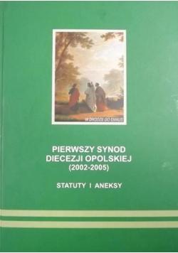 Pierwszy synod diecezji opolskiej statuty i aneksy