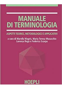 Manuale Di Terminologia