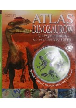 Atlas dinozaurów plus CD