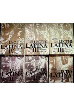 Lectio Latina 6 tomów
