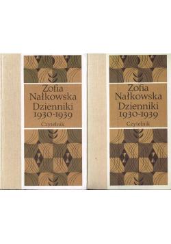 Zofia Nałkowska Dzienniki 1930-1939 część 1 i 2