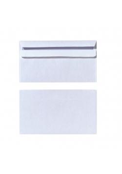 Koperta C6 DL 75g biała (25szt)