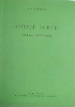 Dzieje Turcji od końca XVIII wieku