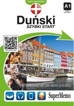Duński Szybki start Kurs językowy plus CD