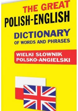 Wielki słownik polsko angielski