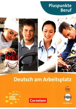 Pluspunkte Beruf Deutsch am Arbeitsplatz  + CD