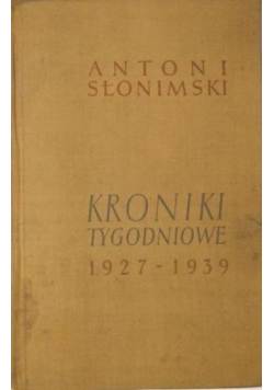 Kroniki tygodniowe 1927 1939