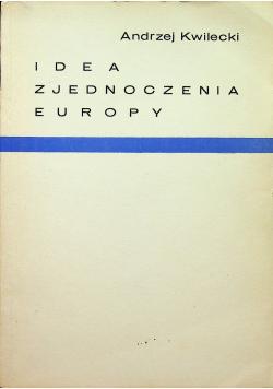 Idea zjednoczenia Europy