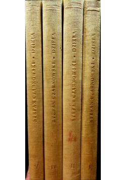 Dzieła Czarnowski 4 tomy