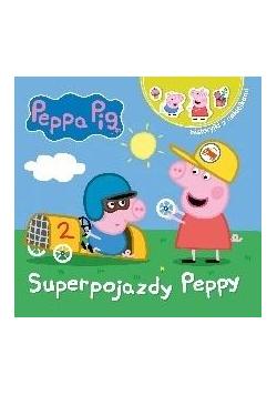 Świnka Peppa. Opowiadania z.. Superpojazdy Peppy