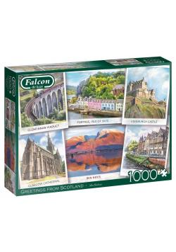 Puzzle 1000 Falcon Pozdrowienia ze Szkocji G3