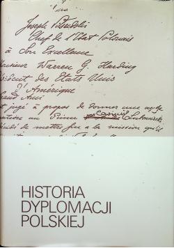 Historia dyplomacji polskiej Tom IV