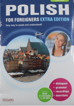 Polish For Foreigners Extra Edition Level A1 B1  plus CD