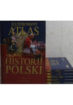Ilustrowany atlas historii Polski 6 tomów