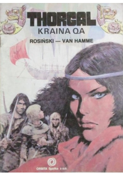 Thorgal Kraina Qa Wydanie I