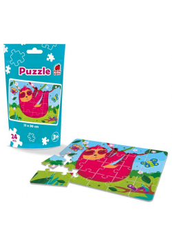 Puzzle edukacyjne - Leniwiec