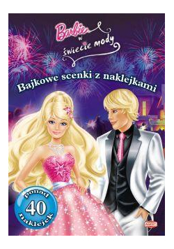 Bajkowe scenki z naklejkami - Barbie ®
