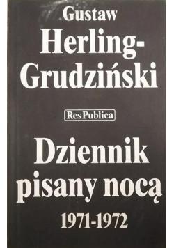 Dziennik pisany nocą 1971 1972