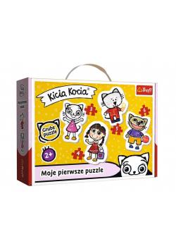 Puzzle Baby Classic - Wesoła Kicia Kocia TREFL