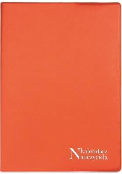 Kalendarz Nauczyciela A5 2020/2021 PCV pomarańcz