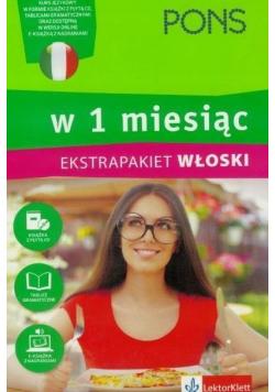 W 1 miesiąc Włoski Ekstrapakiet plus CD